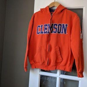 ‼️ Clemson Full Zip Hoodie Size M